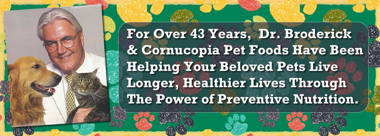 Cornucopia Pet Foods - Serving The Community For Over 43 Years