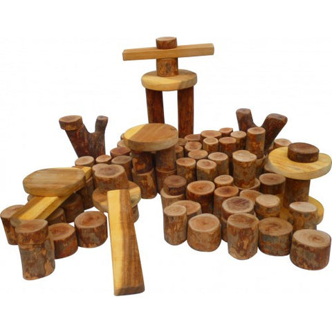 Tree Blocks - 106 pieces