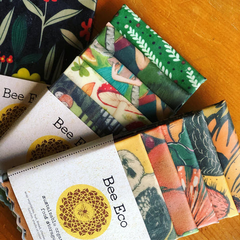 Bee Eco Beeswax Wraps 5pk