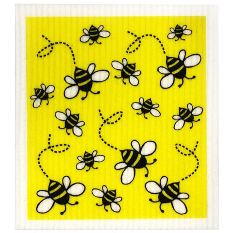 Compostable sponge cloth - bees