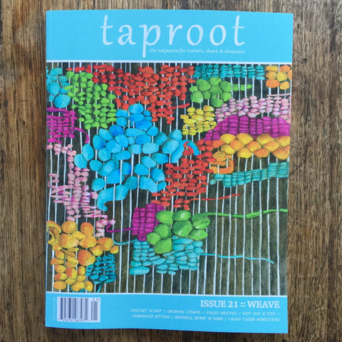 Taproot: Issue 21:: WEAVE