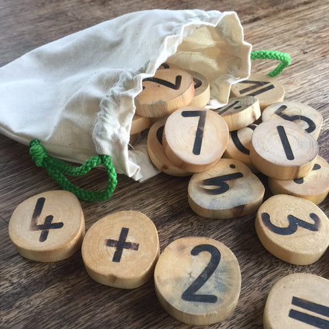 Tree numbers maths set