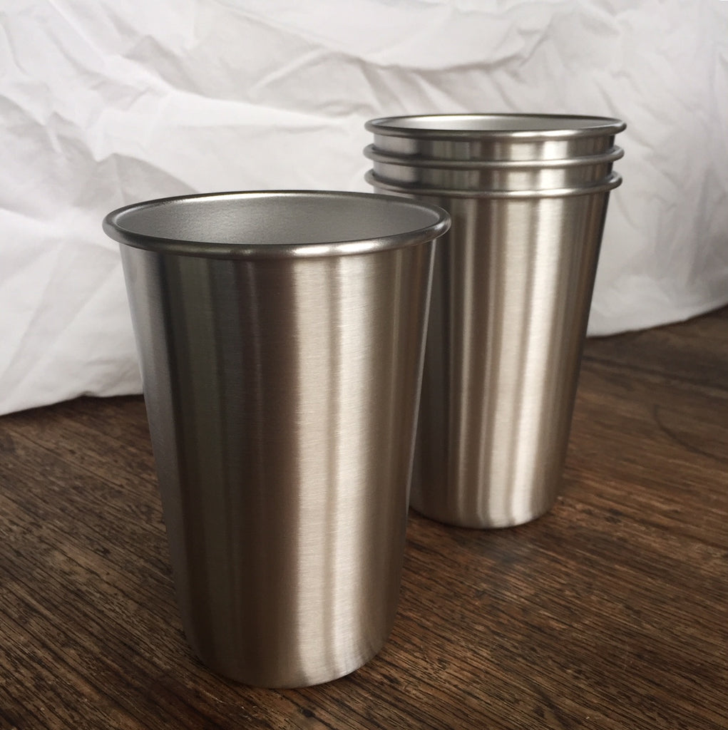 Stainless Steel Tumblers - 4pk