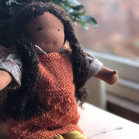 Formed doll - 13 inch
