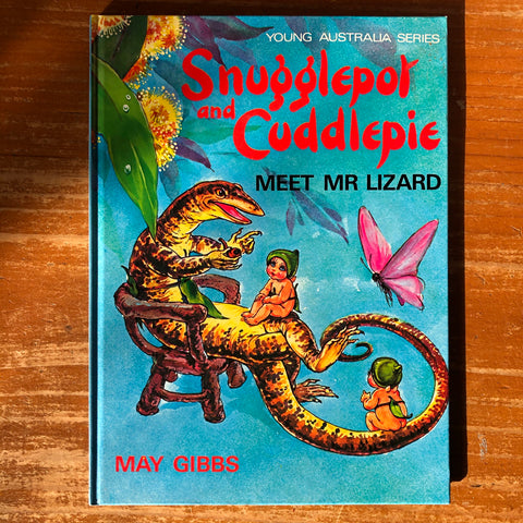 Snugglepot and Cuddlepie - Meet Mr Lizard *pre-loved*