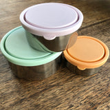 Stainless Steel Nesting Containers - Set of 3