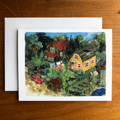Phoebe Wahl - Neighbourhood - card