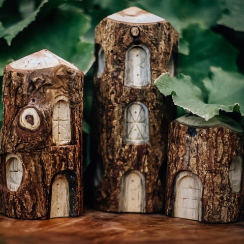 Tree Houses - set of 3