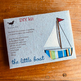 Sewing kit - The Little Boat