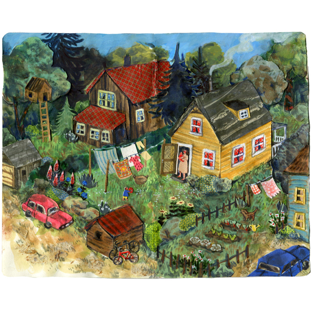 Phoebe Wahl - Neighbourhood - Art Print