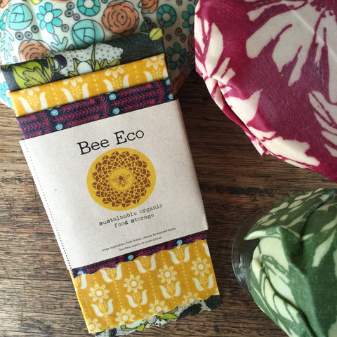 Bee Eco Beeswax Wraps 3pk
