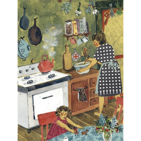 Phoebe Wahl - Afternoon in the Kitchen
