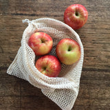 Organic Cotton Produce Bags - Mixed Set