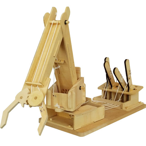 Mega Builder Crane Wooden Kit