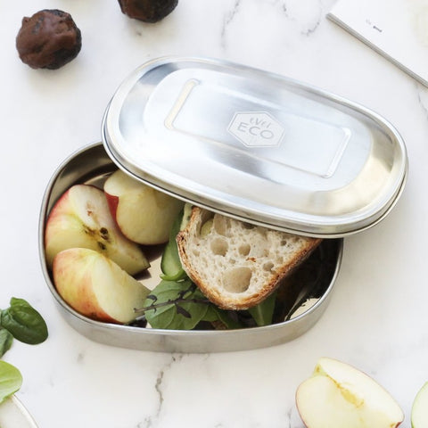 Stainless Steel Bento Snack Box - 1 compartment