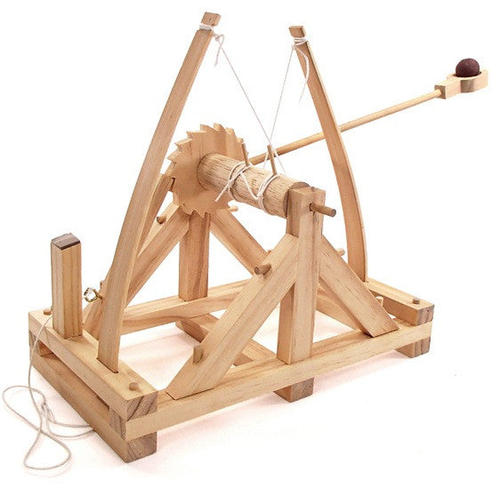 Da Vinci Wooden Catapult Kit