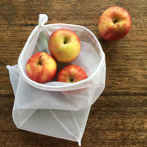 Reusable Produce Bags - Fine Mesh
