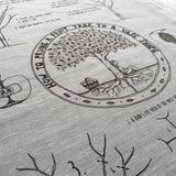Tea Towel - Fruit Tree Pruning