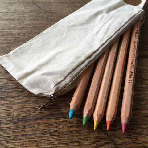 Calico Pencil Case