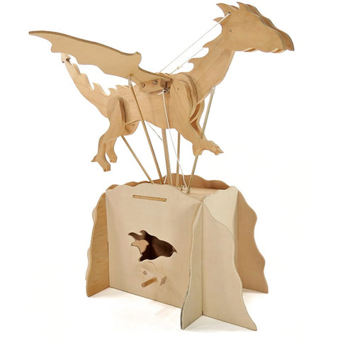 Automaton Wooden Dragon Kit