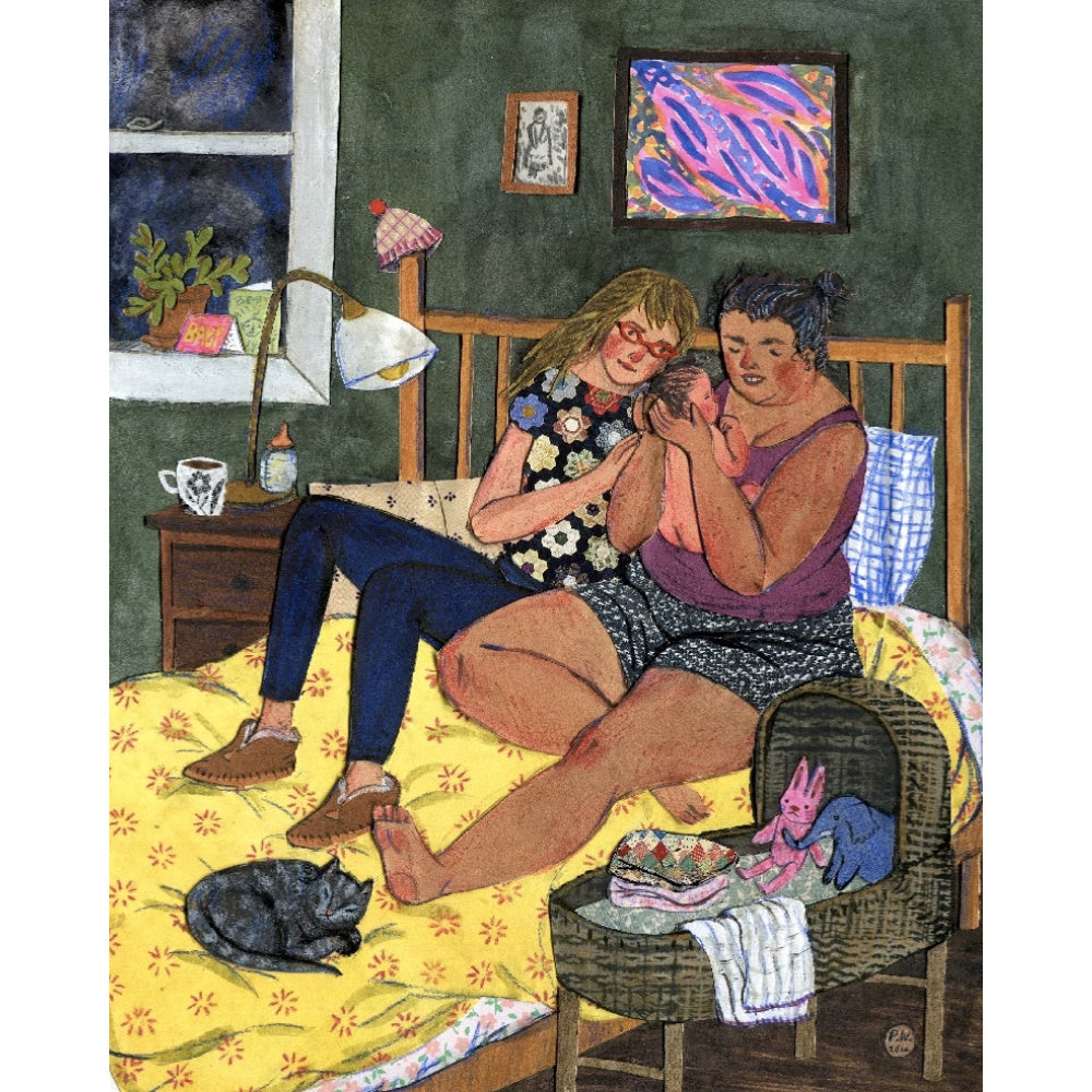 Phoebe Wahl - First Night at Home - Art Print