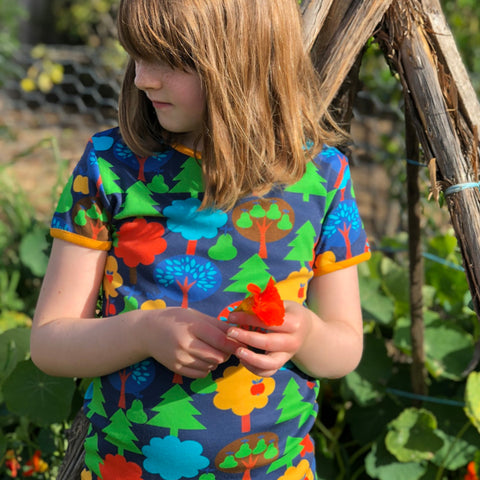 Organic Cotton Fruit Garden Tee