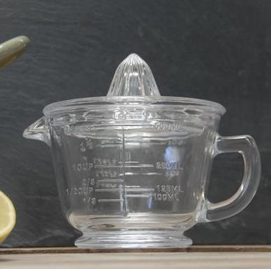 Glass Juicer & measuring jug