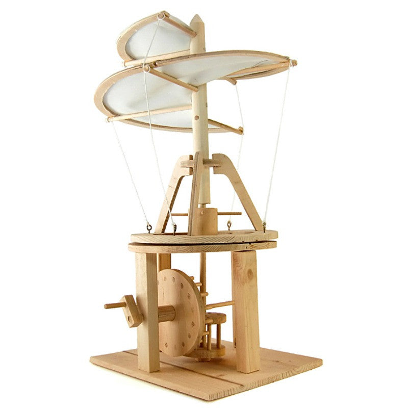 Da Vinci Wooden Helicopter Kit