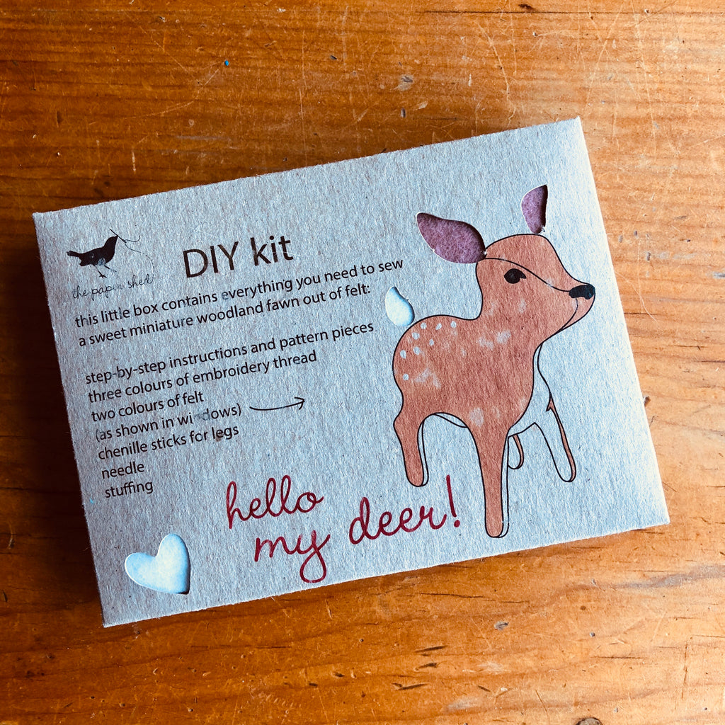 Sewing kit - Hello my deer!