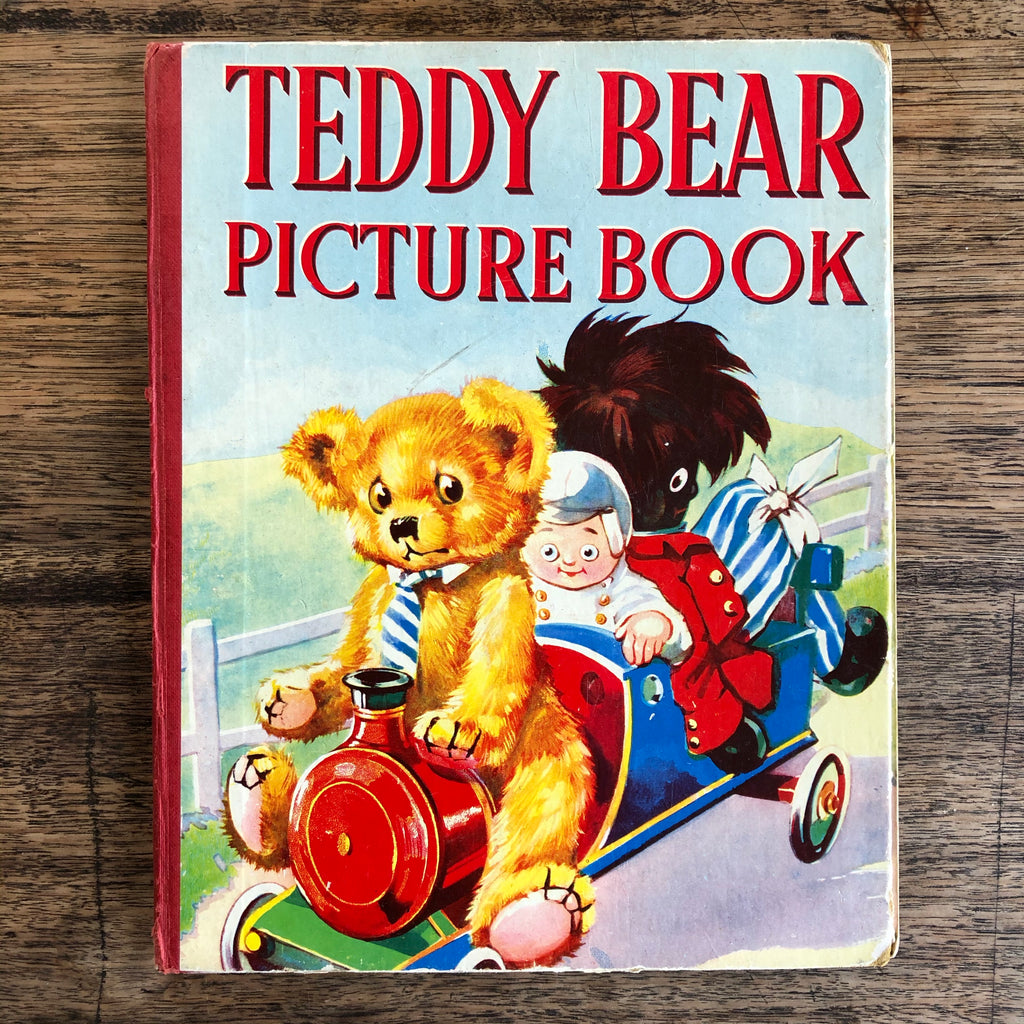 Teddy Bear Picture Book *pre-loved*