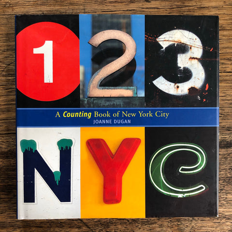 123NYC - A Counting Book of New York City *pre-loved*