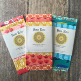 Bee Eco Beeswax Wraps 4pk