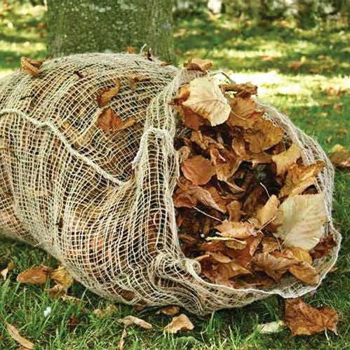 Jute Leaf Composting Sacks - 2pk