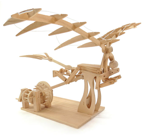 Da Vinci Wooden Ornithopter Kit