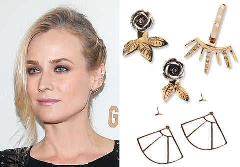 InStyle Trendy Earrings Jackets, Crawlers, Cuffs, Climbers