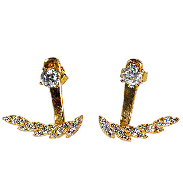 Feathered Earring Jacket -  Emma Winston -  - 4