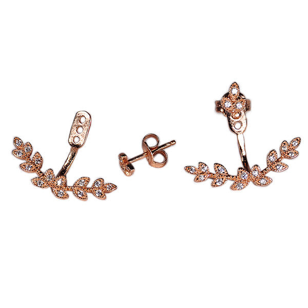 Leaf Earring Jacket -  Emma Winston -  - 4