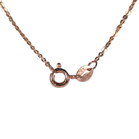 Round Pavé Necklace -  Emma Winston -  - 3