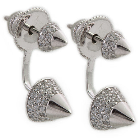 Pavé Stud Earring Jacket