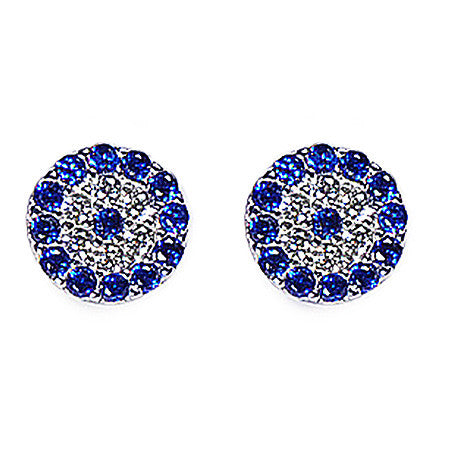 Evil Eye Studs -  Emma Winston - White Gold - 1