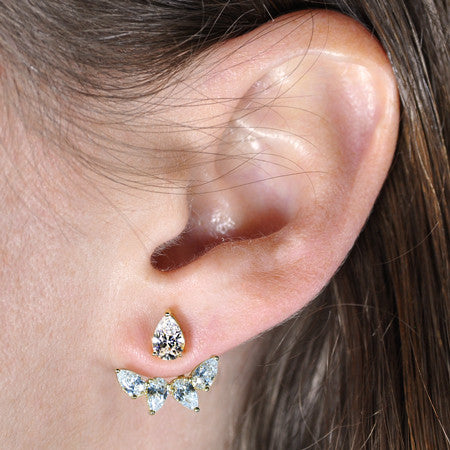 Marquise Stud and Earring Jacket -  Emma Winston -  - 2