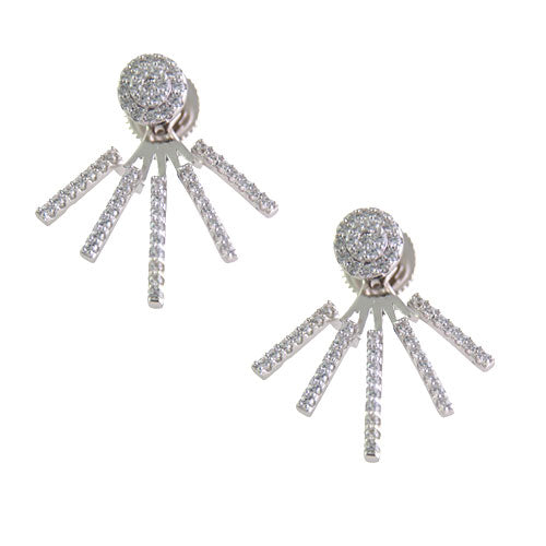 Pavé Burst Earring Jacket