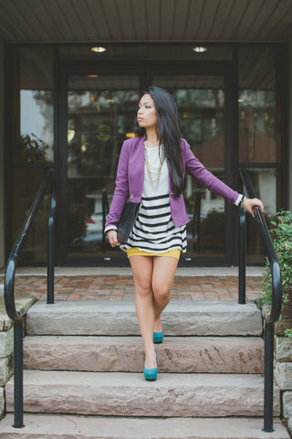 Stripes, Rich Hues, & Colour Blocking