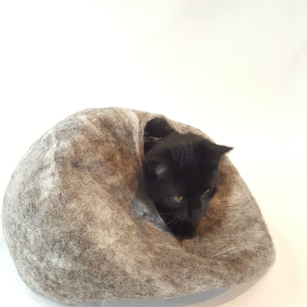 Hand Felted Cat Ball