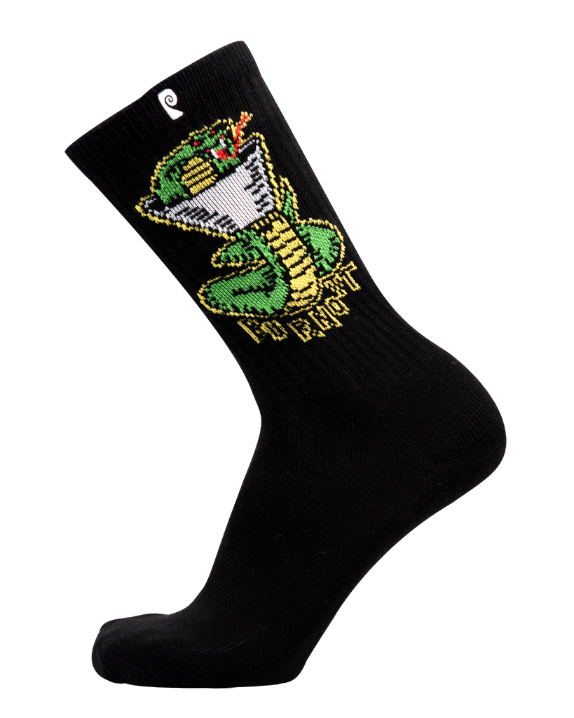 BURNOUT BAD SNAKES PSOCK - BLACK