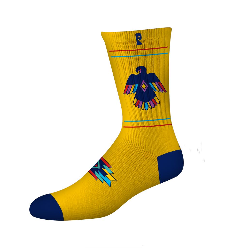 "THUNDERBIRD PSOCKS - YELLOW/NAVY *BRIAN ""SLASH"" HANSEN*"