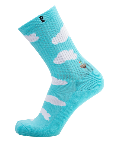 Bird Blue Psocks
