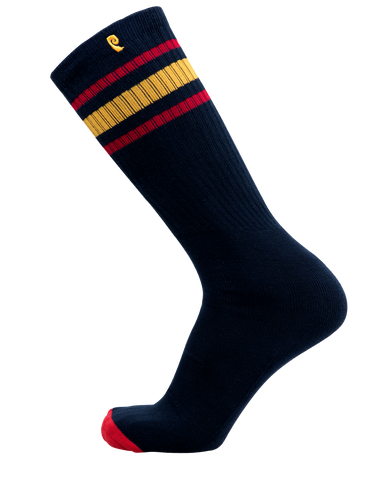 HIGH TIMES PSOCK - NAVY/RED