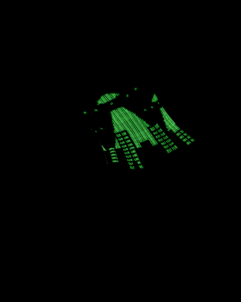 UFO PSOCK - BLACK/GREEN *GLOW IN THE DARK*
