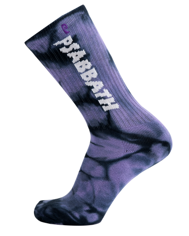 SWEET LEAF PSOCK - PURPLE/BLACK